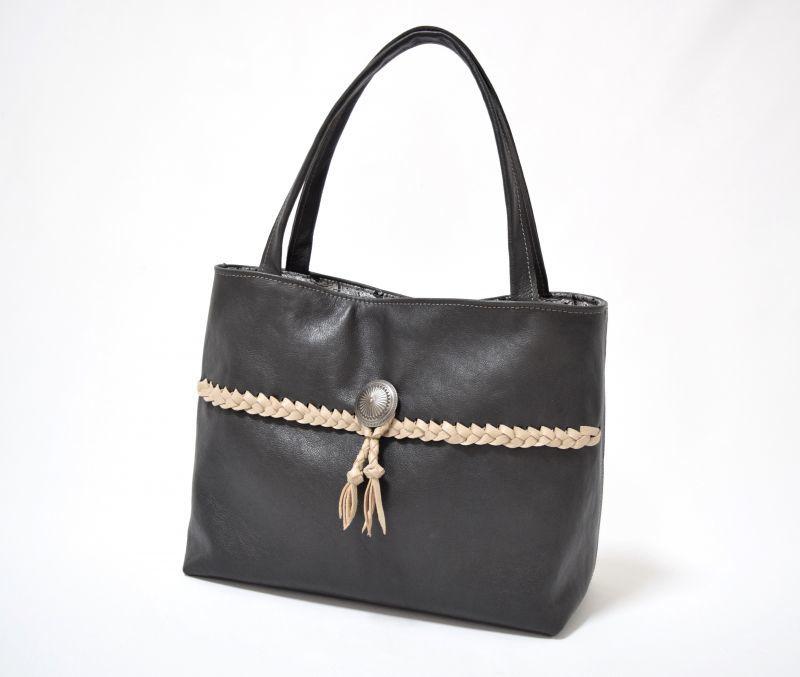 画像1: 【トートバッグ】 tote bag(チャコールグレー) (1)
